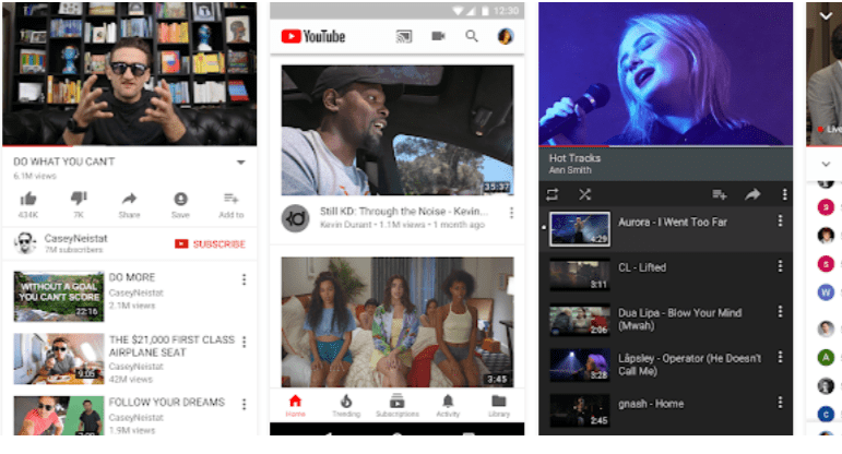 YouTube App- Go Live On YouTube