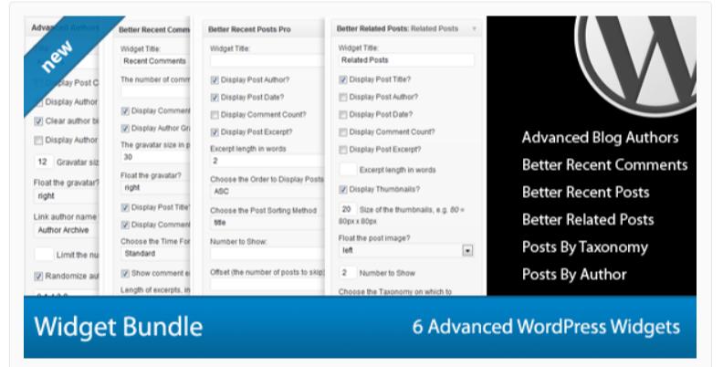Advanced WordPress Widget Bundle- Related WordPress Post Plugins
