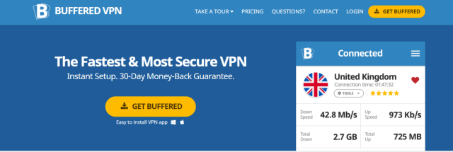 Buffered VPN- Best VPn For Egypt