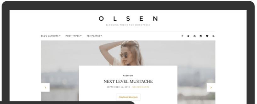 Olsen- Fashion WordPress Themes