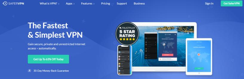 SaferVPN - Best VPN For Tanzania