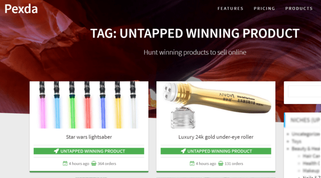 UNTAPPED WINNING PRODUCT – Pexda Review