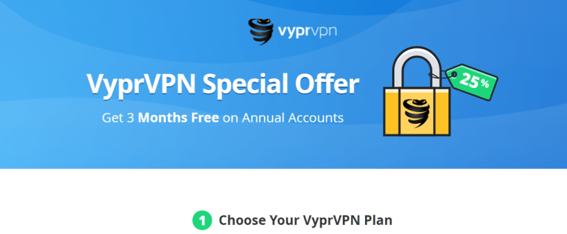 VyprVPN- Best VPN For Syria
