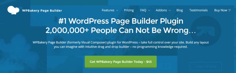 WPBakery - WordPress Page Builder Plugins