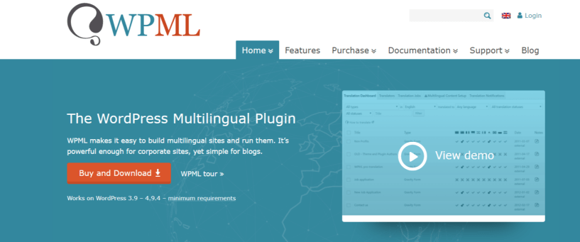 WPML- Compatible With Visual Composer