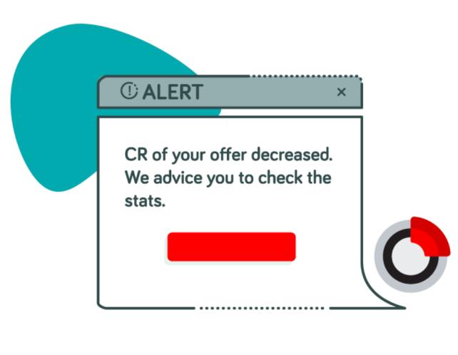 get alerts when KPIs doesn't meet