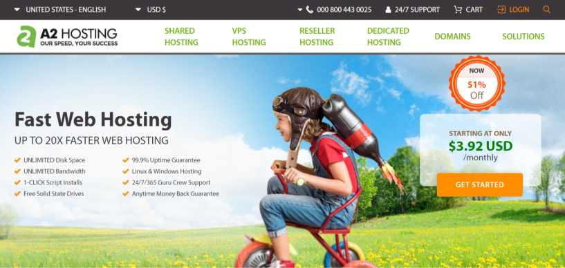 A2 Hosting Faster Hosting For Your Website- A2 Hosting Review