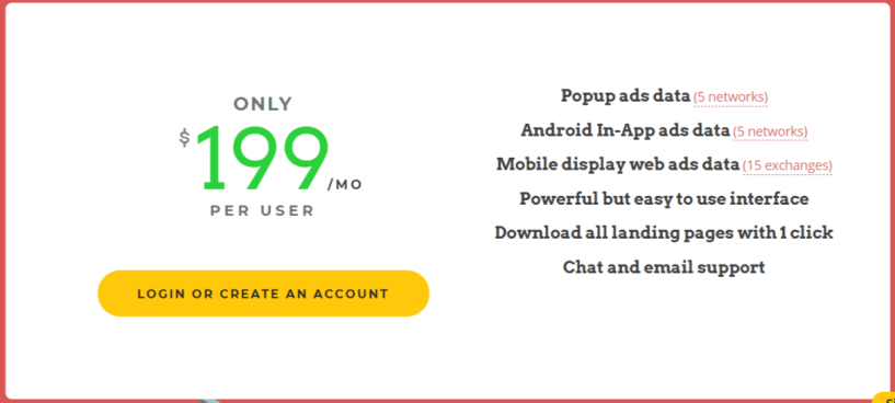 AdPlexity Mobile Pricing- AdPlexity Review