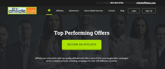 Affiliate.com- Clickbank Alternatives