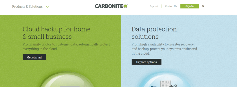 Carbonite- Best Cloud Backup Service For Mac