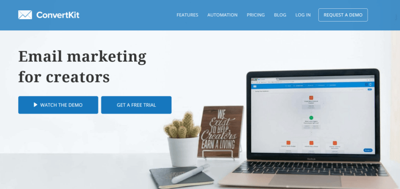 ConvertKit Coupon Codes- Email Marketing Solution