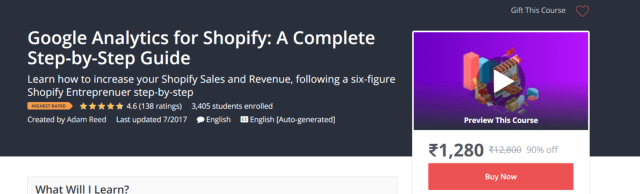 Google Analytics For Shopify- Find Winning Shopify Products