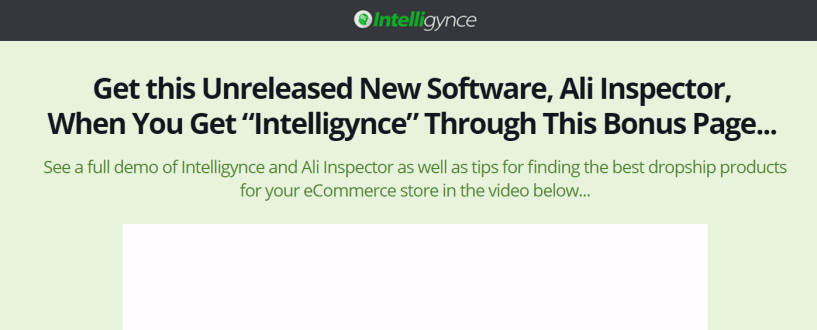 Shopify Analysis Tools Intelligynce- Find Winning Shopify Products