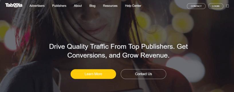 Taboola - Best Native Ads Network