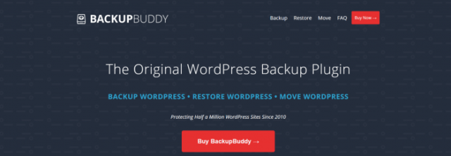 Create A Blog Easily- BackupBuddy Plugin