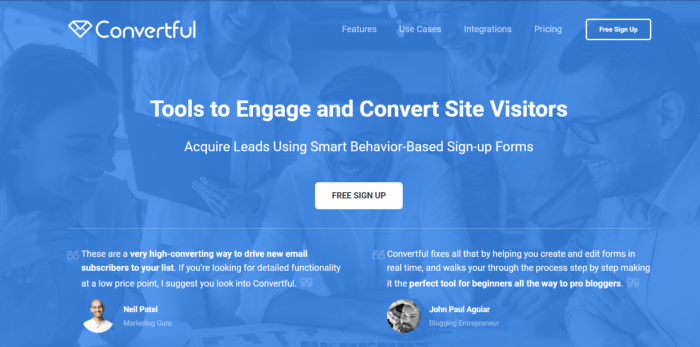 Convertful Review — Tools To Engage and Convert Site Visitors