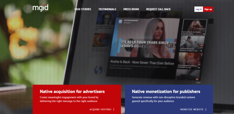 MGID Review- Native Advertising