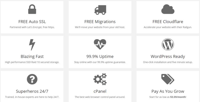 NameHero Coupon Codes- Features