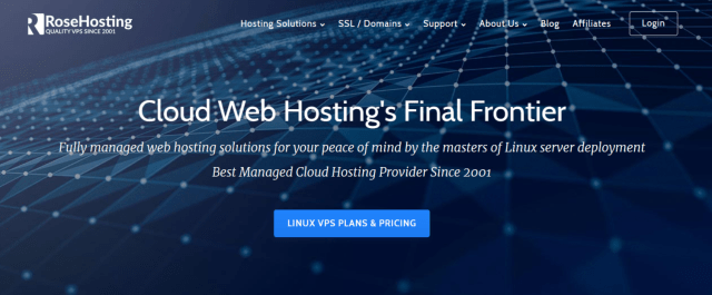 RoseHosting Review With Coupon Codes- Best Managed Linux Cloud Hosting