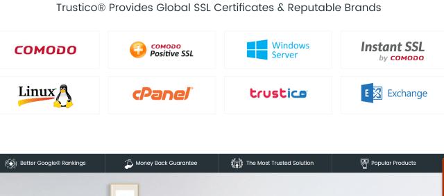 Trustico trust badges seal