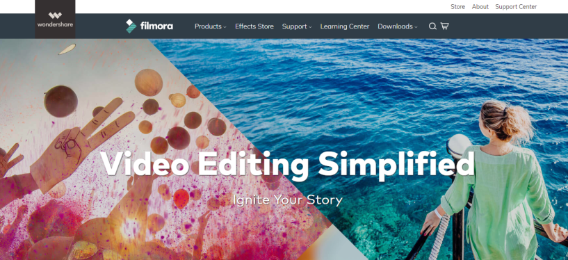 Filmora video editing software for vloggers