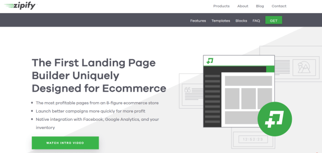 Zipify Review -The First Landing Page Builder for Ecommerce