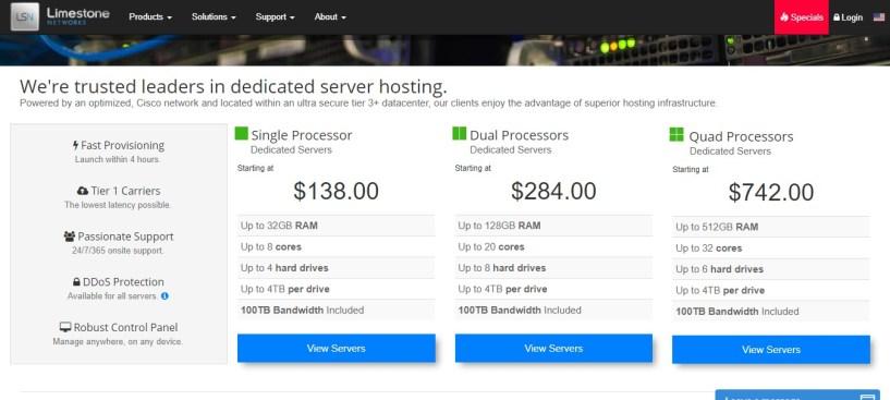 cheap web hosting- limestone