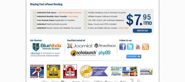 cheap web hosting- vodahost