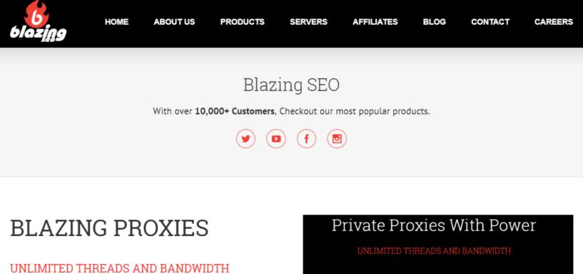 Blazingseollc proxies - Proxies For Sale