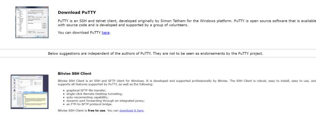 Setup Private Proxy Server- Putty Application