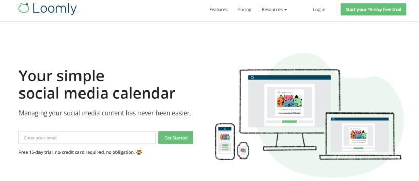 Loomly Review:- Social Media Calendar