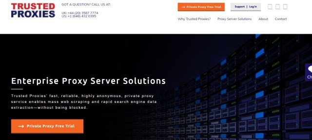 TurstedProxies- Best Cheap Private Proxy Servers