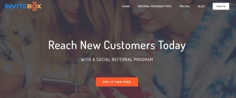 Referral p=Program Software- InviteBox