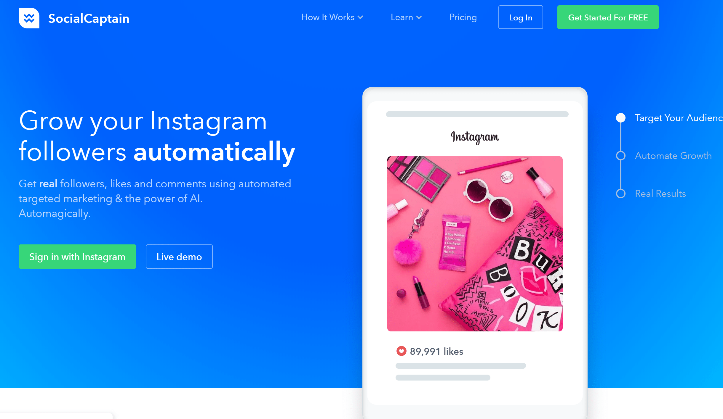 SocialCaptain Review 2019 Pros & Cons: Instagram Growth