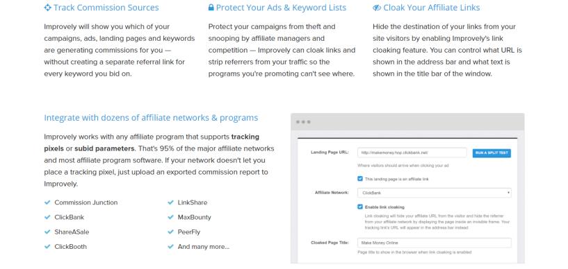 improvely best link tracker alternative