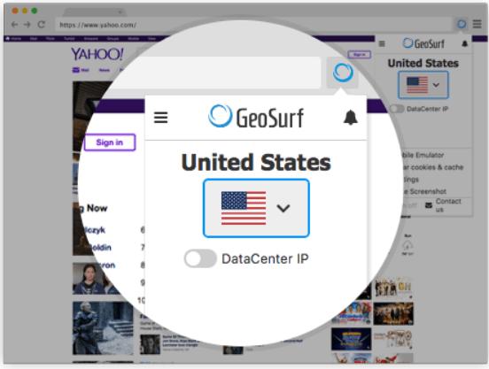 GeoSurf Review- GeoSurf ToolBar