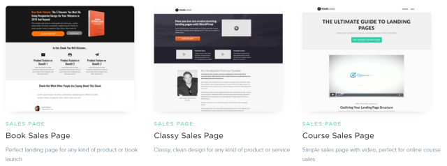 OptimizePress Review- Sales Page Templates