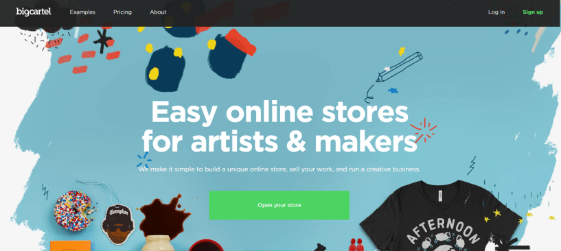 Shopify Alternatives- Big Cartel