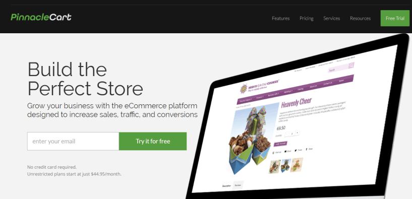 Shopify Alternatives- Pinnacle Cart