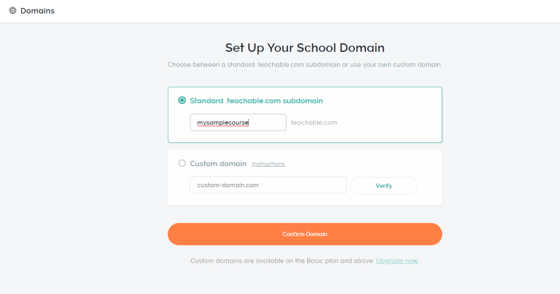 Teachable Review- Hosting And Domains