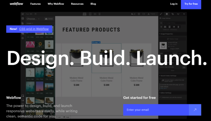 Webflow Review- Web Design Tool, CMS and hosting platform