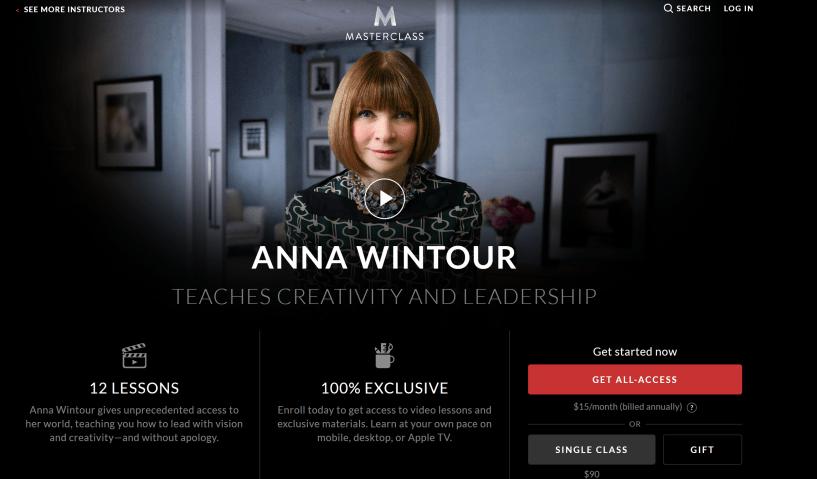 Anna wintour masterclass review