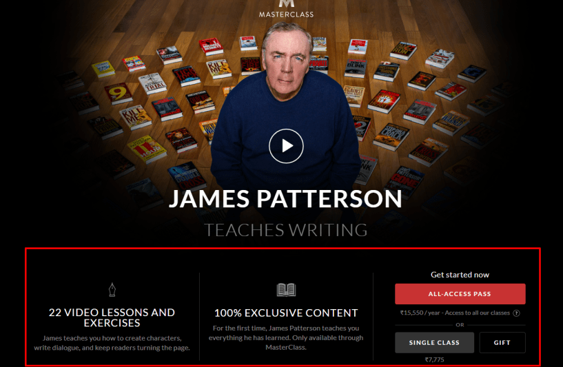 James Patterson Teaches Writing- MasterClass Review