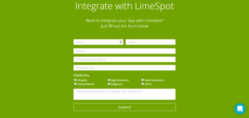 Limespot integration pps