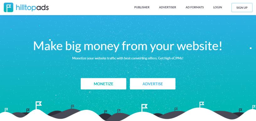 HilltopAds – Advertising Network