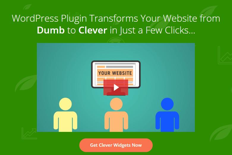 Thrive Clever Widgets Review- Show Relevant WordPress Widgets