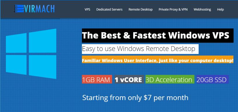 VirMach Review- Cheap Windows VPS