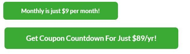 Zipify Coupon Countdown Review- Pricing Plans