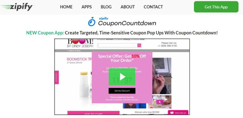 Zipify Coupon Countdown Review- Zipify