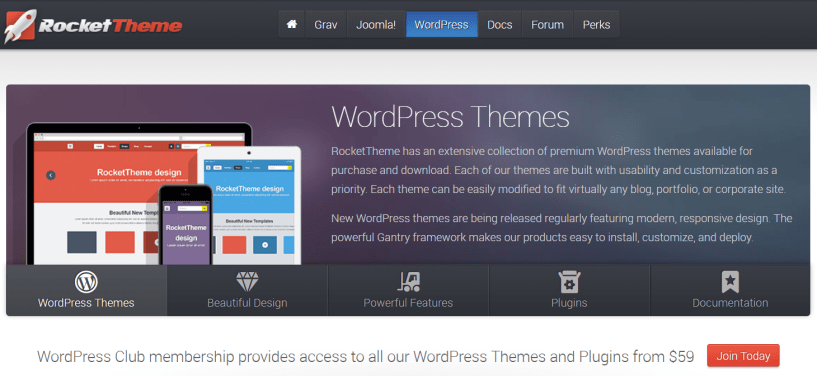 RocketTheme Review With Discount Coupon- WordPress Themes